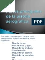 Partes Principales de La Pistola Aerográfica.