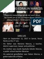 Ferdinand Edralin Marcos