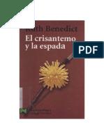 Benedict Ruth - El Crisantemo Y La Espada.doc