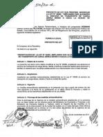 (PL) Ampliación del servicio de transporte de carga aérea desde y hacia Iquitos a los alcances de la Ley Nº29285