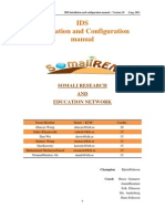 5 IDS Installation Configuration Manual Version 2.0