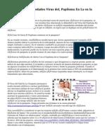 Novedades Enfermedades Virus del, Papiloma En La en la garganta?
