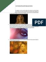 Beyonce - 1+1 male gaze analysis