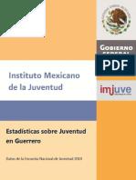 Estadisticas Sobre Juventu en Guerrero