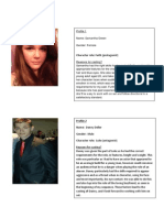 Cast Profiles