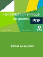 Fiscalidad y Género Rd Sept 2014