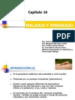 Capitulo 16. Tema Malaria y Embarazo