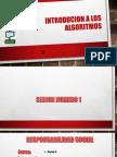 Introducion a Los Algoritmos