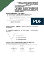 Temario de Derecho Administrativo
