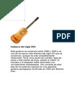 Evolucion de La Guitarra 45