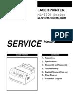 Samsung Ml 1210 Xaasvc Service Manual