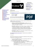 WebMO Demo Server