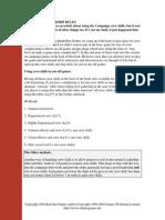 BFG Advanced Ld Rules