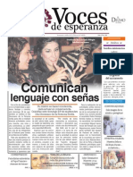 Voces de Esperanza 28 de Septiembre de 2014