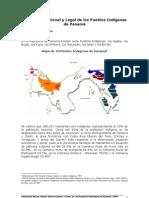 Marco Institucional y Legal de los Pueblos Indígenas de Panamá