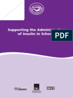 guidance on the adminstration of insulin