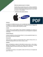 Patentes Del Samsung Galaxy s5 y iPhone 6