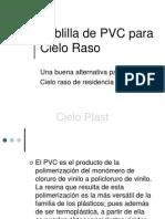 Cielo Raso PVC