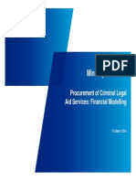 KPMG - Procurement of Criminal Legal Aid Services