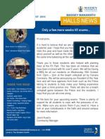 Massey Manawatu Halls of Residence Newsletter Issue 6 2014