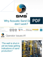Why Acoustic Sand Detectors Dont Work Chris Burke SMS