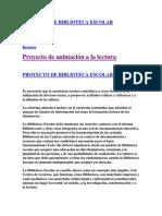 Proyecto de Biblioteca Escolar1