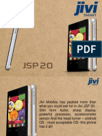 Cheapest Android Smartphone in India Jivi JSP20