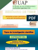Tipos de Investigacion (Guia)