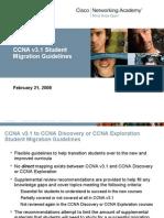 CCNA v3.1 StudentMigrationGuidelines