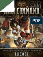 Warmachine HighCommand Rulebook