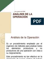 Analisis de La Operacion