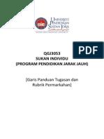 3Garis Panduan Tajuk Tugasan QGJ3053 Sep14