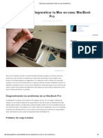 Tutorial Para Diagnosticar Tu Mac en Casa_ MacBook Pro