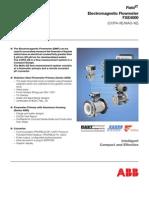 ABB_FXE4000 - Medidor Eletromagnetico