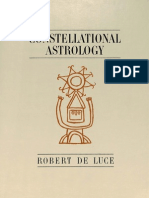 Robert DeLuce - Constellational Astrology (1963)