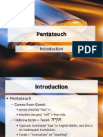 01 Pentateuch Introduction Lecture