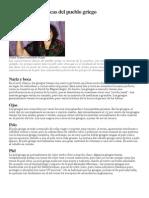 Características Físicas Del Pueblo Griego