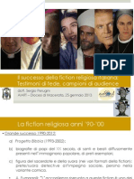 Studio Fiction Religiose in Italia
