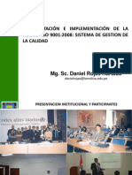 Iso 9001-2008 Unalm (Parte i)