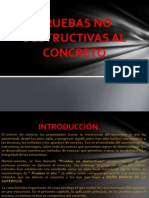 Pruebas No Destructivas Al Concreto