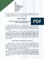 Instrukcija o Postupku Obelezavanja Pcelinjih Drustava i Registraciji Pcelinjaka