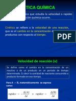 21) Velocidad de reacción 1