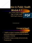 PBH 101 Module 1