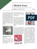 Newspaper Article - John Caicedo