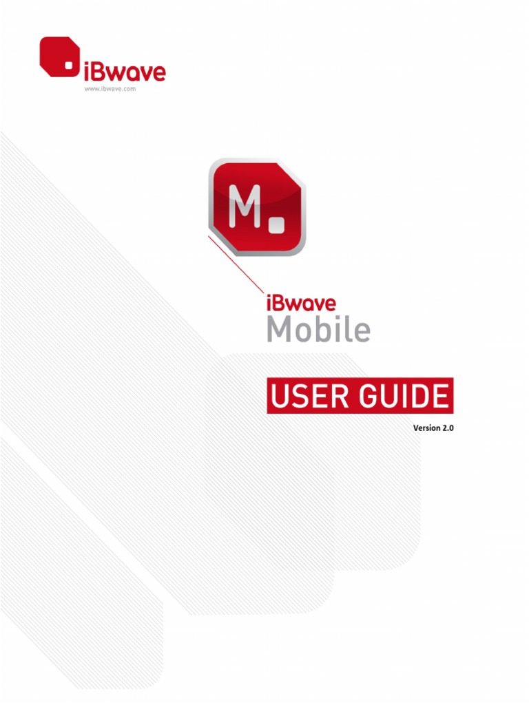 ibwave mobile user guide icon computing mobile device rh scribd com iBwave My iBwave Coverage Heat Map