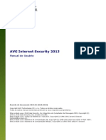 Manual AVG Internet Security 2013