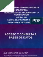 acceso y consulta de datos