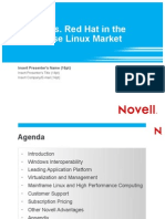 Novell vs Red Hat in Enterprise Linux