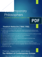Contemporary Philosophers 2013