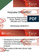 holyoake drumbeat